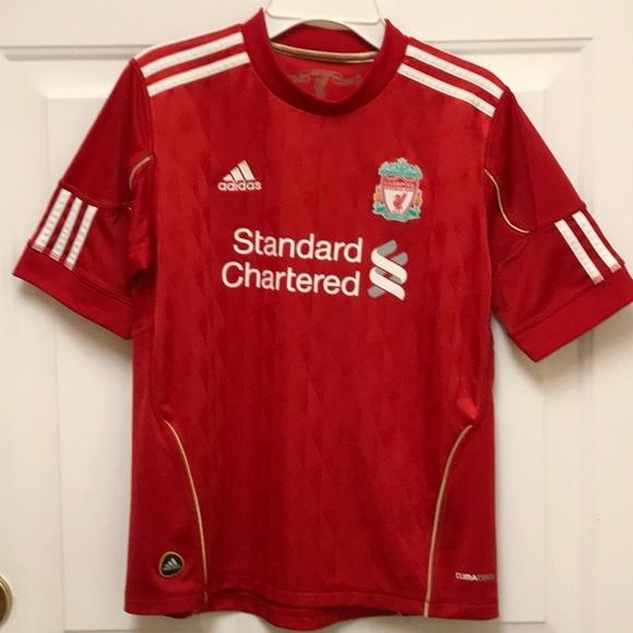 size 40 886c1 fb62c Adidas Liverpool FC Jersey